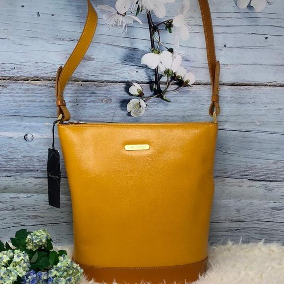 bffdce237f59 Burberry Handbags - Authentic Burberry Nova Check Leather Bag